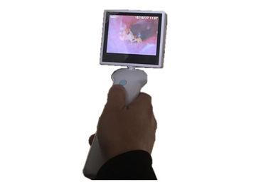 Macchina fotografica OTORINOLARINGOIATRICA dello schermo otoscopio LCD a 3,5 pollici di Digital del video per la gola del naso dell'orecchio con la batteria al litio
